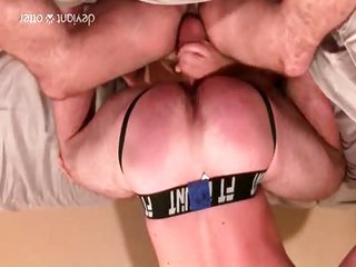 Hungry submissive alpha DP - as good as 1 - Free Gay Porn not quite Deviantotter - Video 122461